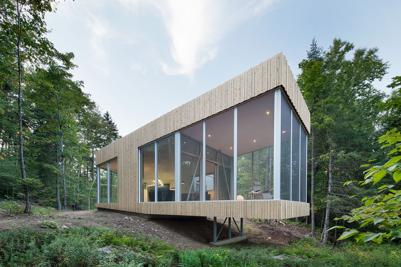 Maison du lac grenier paul bernier architecte for Agrandissement maison grenier