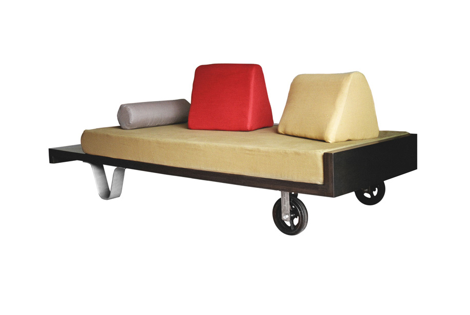 Wheelbarrow Sofa